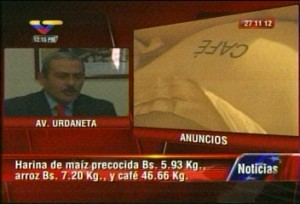"""El ministro del Poder Popular para la Agricultura y Tierras, Juan Carlos Loyo, anunció el ajuste en los precios de la harina de maíz precocida, arroz y café molido.""""Los precios fijados por el Gobierno Bolivariano son para el consumidor y serán publicados en Gaceta Oficial mañana miércoles (hoy) """", puntualizó Loyo.Informó el funcionario que el precio máximo de venta al público del kilo de café molido pasó de 37,56 a 46,66 bolívares; el del arroz blanco, de 5,62 a 7,20 bolívares y el precio de la harina de maíz precocida pasó de 4,06 a 5,93 bolívares el kilo.Por otra parte, el ministro del Poder Popular para la Alimentación, Carlos Osorio, detalló que el ajuste de estos rubros no aplicará en la Red Mercal, ya que esta es subsidiada. Afirmó que el país cuenta con una existencia de 600 mil toneladas de maíz amarillo, 436 mil toneladas de arroz y 513 mil quintales de café para abastecer el mercado, informó VTV."""
