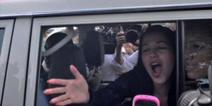 """""""Rosita"""" comparte con sus compañeras de celda y hasta hizo una parodia"""